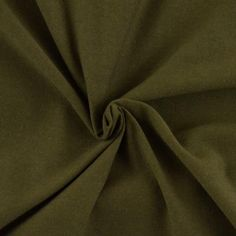 Olive Solid, Cotton Spandex
