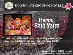 Jay Jagannath jisaka nam hai, Puri jisaka dham hai aise bhagvan ko, ham sab ka pranam hai. Wish You #Happy #Ratha #Yatra to Savshanti Group Of Hotels. http://savshantihotels.com/