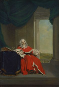 Arthur William Devis: Sir Robert Chambers. ca. 1789.