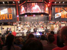 crossfit invitational berlin 10/26/13 teamUSA vs. teamWORLD