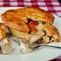 Turkey Pot Pie - another delicious leftover turkey idea.