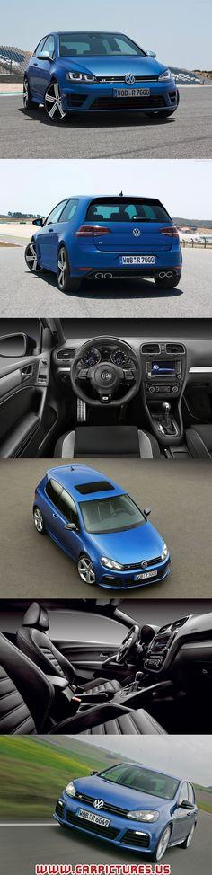 2014 Volkswagen Golf R. hmmmmmm thats a sexy car!