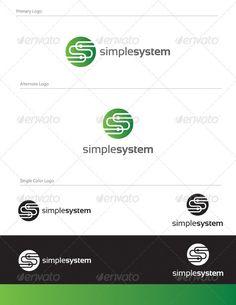 Simple System Logo Design - LET-004