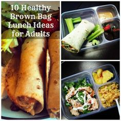 10 Healthy Brown Bag Lunch Ideas for Adults
