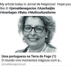My article today in Jornal de Negócios!