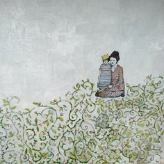 Emily and Alice in the Flowers by Amanda Blake.  Another one that I can't stop looking at.