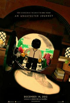 Awesome re-creation of The Hobbit Movie poster in LEGO! by Brιcĸo, via Flickr