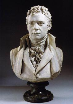 Houdon Jean-Antoine - Robert Fulton (Detroit Institute of Arts, Michigan)