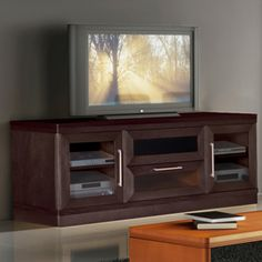 "Transitional 70"" TV Console in Wenge"