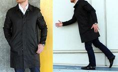 DAPPERED: In Review - The H&M David Beckham Linen Coat