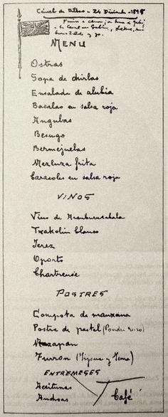 1895-12-24 menú cena de Sabino de Arana en la cárcel / El último Sabino – Belosticalle | Verdades que ofenden..