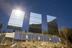 Residents of a remote village nestled in a steep-sided valley in southern Norway are about to enjoy winter sunlight for the first time ever thanks to giant mirrors. Giant Mirror, Sun Mirror, Big Mirrors, Dark Winter, Winter Sun, Luz Natural, Oslo, Luz Solar, Chiaroscuro