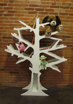 Funky Tree Bookcase by KidsCreationsBeds on Etsy, $599.00