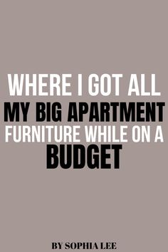 I have been looking everywhere for cheap furniture for my apartment that still looked good and this is it! So glad I found this post.. seriously so many good apartment furniture options! Can't wait to order!