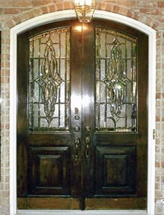 Custom Made Beveled Glass Doors | New house building ideas ...
