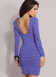 Kup mój przedmiot na #vintedpl http://www.vinted.pl/damska-odziez/krotkie-sukienki/13605242-dopasowana-sukienka-w-paski-asos-m