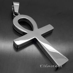 Ancient Ankh Cross Egyptian Symbol Of Life Stainless Steel Pendant in Jewelry & Watches, Fashion Jewelry, Necklaces & Pendants Stainless Steel Necklace, 316l Stainless Steel, Nu Goth Fashion, Space Grunge, Life Symbol, Egyptian Symbols, Jewelry Watches, Jewelry Box, Jewelry Necklaces