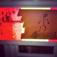 #mixedart #alppila #Helsinki #streetart 04\16 #urbanart #trafficsign #sticker #katutaidetta #katutaide