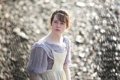 Claire Foy as Amy Dorrit in Little Dorrit (TV mini-series, Excellent! Little Dorrit, Bbc Drama, Period Costumes, Les Miserables, Music Tv, Period Dramas, Jane Austen, I Movie, Character Inspiration