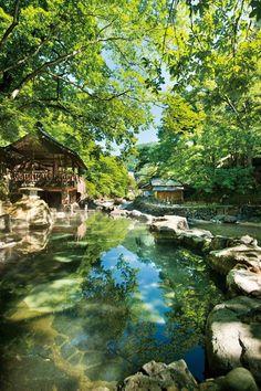 秋の日帰り旅行ならここ一択!群馬県「みなかみ」へ行くべき5つの理由 3枚目の画像 Japanese Bath, Japanese Architecture, Hot Springs, My Dream Home, Places To Go, Beautiful Places, Environment, Traveling, Journey