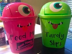 A great way to keep track of those small box tops and tardy slips when students come into class.