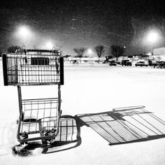 Abandon cart Photo from the Instacanvas gallery of monsterphotoiso.