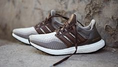"""""""Chocolate"""" leather hits the adidas Ultra Boost"""