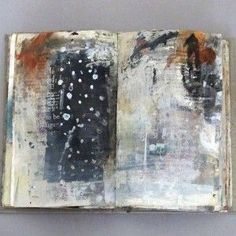 Silence by Linda Welch Art Journal Backgrounds, Art Journal Pages, Art Journals, Classe D'art, Artist Sketchbook, Collages, Sketchbook Inspiration, Handmade Books, Art Sketches