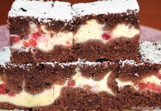 Hrnčekový koláč s tvarohom a ríbezľami Czech Desserts, Sweet Desserts, Easy Desserts, Sweet Recipes, Czech Recipes, Mini Cheesecakes, Sweet Cakes, Desert Recipes, Healthy Baking