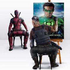 #SundayFunnies #PaybacksaBitch #Deadpool2 #Deadpool #Cable #RyanReynolds #JoshBrolin #GreenLantern Marvel Comics, Memes Marvel, Dc Memes, Marvel Funny, Marvel Heroes, Marvel Characters, Marvel Avengers, Deadpool Art, Deadpool Funny