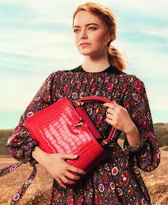 EXCLUSIVE: Emma Stone Hits California Desert in Debut Vuitton Campaign – WWD