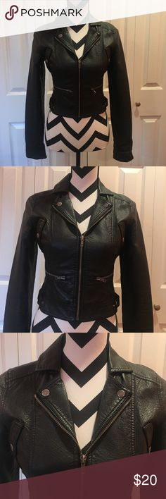 Faux Leather Jacket Good condition Jackets & Coats