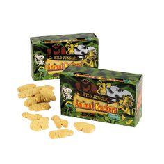 Wild Jungle™ Animal Crackers - OrientalTrading.com