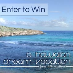 Enter now for a chance to win a trip Hawaii! One lucky winner will receive a dream getaway to Hawaii for up to 4 people, including: Roundtrip airfare from the U.S.A. to Hawaii, 5-night hotel stay at any Delta Vacations hotel in Hawaii and Car rental.     Terms and conditions apply, see entry form for complete details.