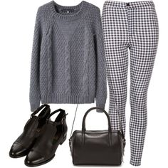 Untitled #538 by angelmariemizuno on Polyvore featuring Les Prairies de Paris, Topshop, Reece Hudson, casual, simple, day and autumn
