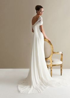 Elegant Antonio Riva wedding dress