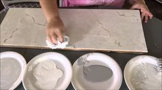 How To Paint Faux Carrera Marble~Super Easy! I painted my kitchen countertops to look like Carrera marble and I LOVE how they turned out! It was very very easy so I thought I would show you guys how I d.
