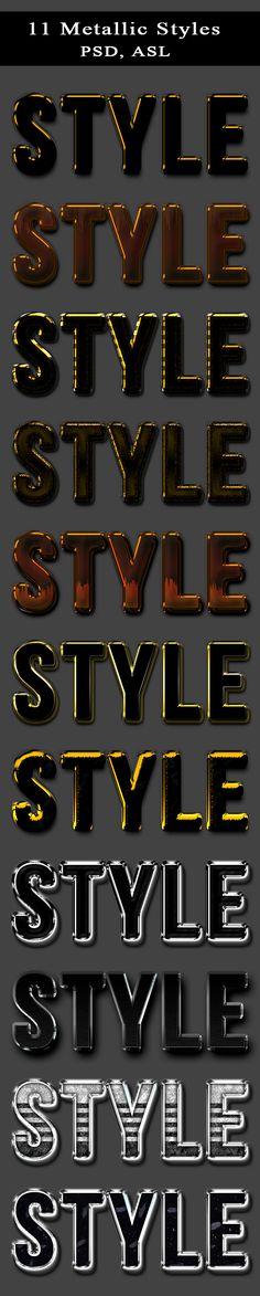 11 Metallic Styles