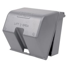 REDDOT 2 Gang Square Metal Electrical Box Cover