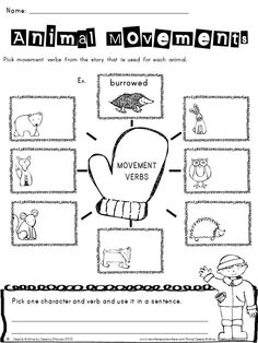 """Mitten: 43 pages - Extend the fun of """"The Mitten"""" story by Jan Brett through these creative and engaging activities. This includes Literacy activities, worksheets, graphic organizers, and more which will help your students meet the Common Core State Standards."""