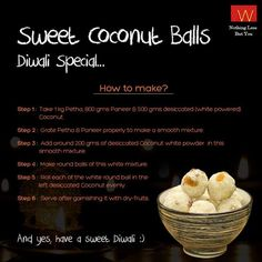 A simple recipe to make your after Diwali celebrations more sweet. Will you try this?  Share your Diwali celebrations clicks with us, here https://www.facebook.com/WforWoman/app_254922981323750