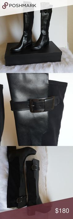 🆕Leather Riding Boot by Tahari size 9 M Black leather riding boot buy Tahari and a size 9 medium.   ✔Ask questions prior to purchase ✔Bundle & Save ✔Feel free to make your best offer! Tahari Shoes