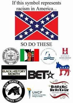 If the Confederate Flag represents racism,,, so do these.