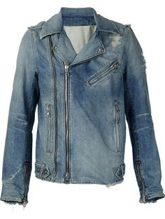 Compre Balmain Jaqueta jeans em Luisa World from the world's best independent boutiques at farfetch.com. Compre em 400 boutiques em um único endereço.