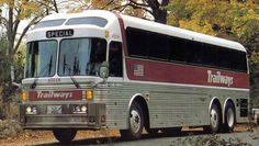 Silver Eagle Bus | 1971 Eagle number 45118 Trailways Model 10