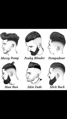 I do variations of Peaky Blinder, slick back and man bun. My barber calls it the Raconteur.