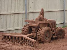 Charlottetown, Prince Edward Island - sand art