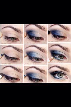 Smokey Eye Makeup To make Green Eyes Pop #Fashion #Beauty #Trusper #Tip