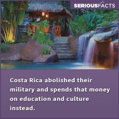 #fact World Thinking Day, History Facts, Interesting Facts, Costa Rica, Fun Facts, Outdoor, Outdoors, Outdoor Games, Funny Facts
