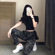 fashion outfits teenage korean for your perfect look this summer. teenage korean Fashion Outfits Teenage korean For Your Perfect Look This Summer Kpop Outfits, Edgy Outfits, Mode Outfits, Grunge Outfits, Dance Outfits, Girl Outfits, Fashion Outfits, Korean Outfits School, Grunge Shoes